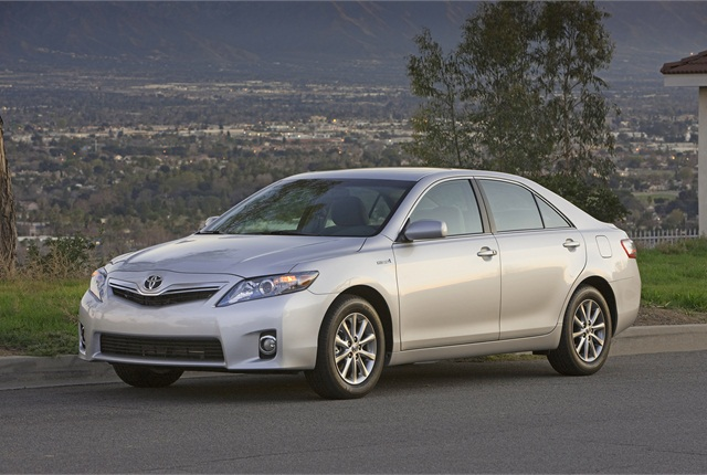 Photo of Toyota Camry Hybrid courtesy of Toyota.