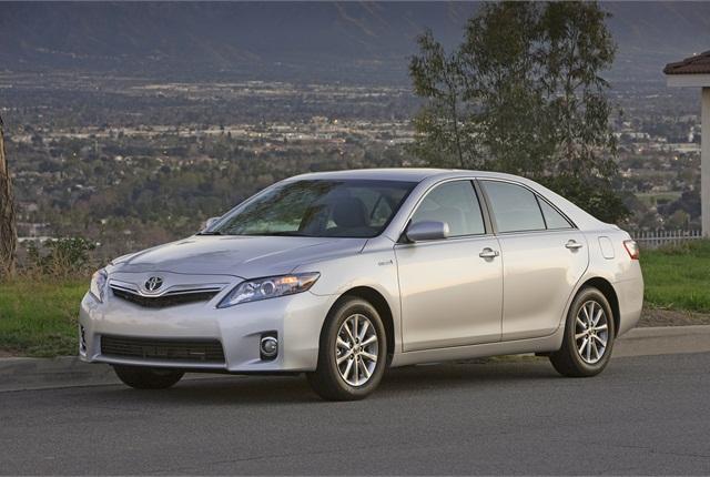 Photo of Toyota Camry Hybrid courtesy of Toyota.
