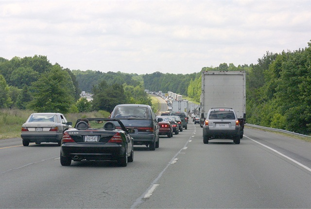 The new law also limits putting tolls along the state's section of I-95.