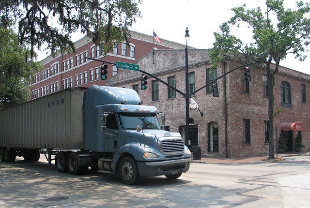 The inland port could reduce the number of trucks bringing intermodal containers into the Savannah port.