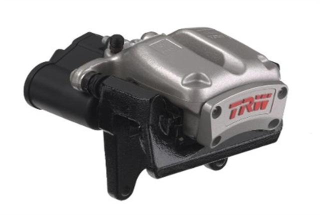 Photo of EPB system courtesy of TRW Automotive.