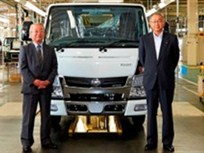 Mitsubishi Fuso Delivers Light-Duty Trucks in Japan
