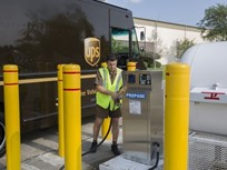UPS Reaches Alternative Fuels Goal a Year Early
