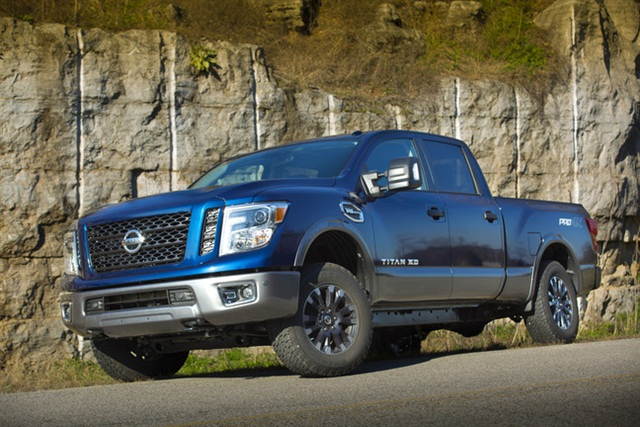 V8 gasoline-powered TITAN XD. Photo: Nissan