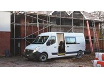 Vauxhall Van Transformed to Mobile Worker Living Space