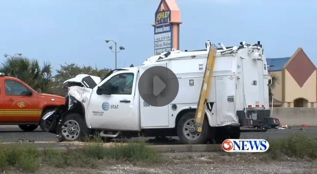 Accident Watch At Amp T Truck Rear Ends Family Suv Georgia