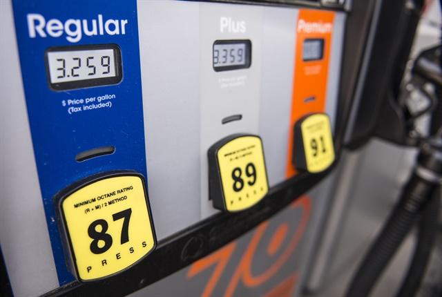 Photo of gasoline fuel pump by Vince Taroc.
