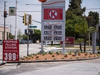 Gasoline Falls to $2.29 Per Gallon