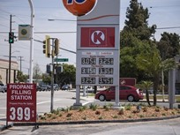 Gasoline Prices Fall to $2.33 Per Gallon