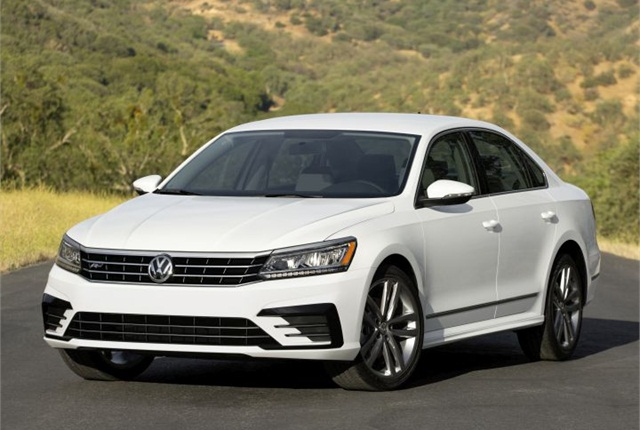 Photo of 2016 Passat courtesy of Volkswagen.