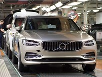 Volvo Begins Building 2017 S90, V90 Cars