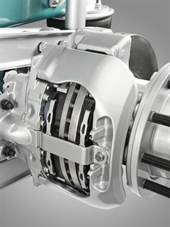 Volvo air disc brake.