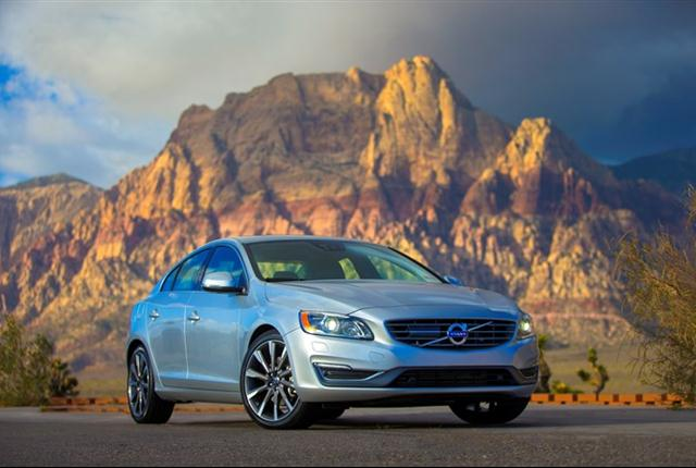 Photo of Volvo S60 sedan courtesy of Volvo.