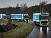 Volvo Takes Part in European Platooning Challenge