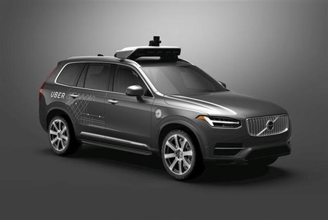 Photo of Uber's autonomous XC90 courtesy of Volvo.