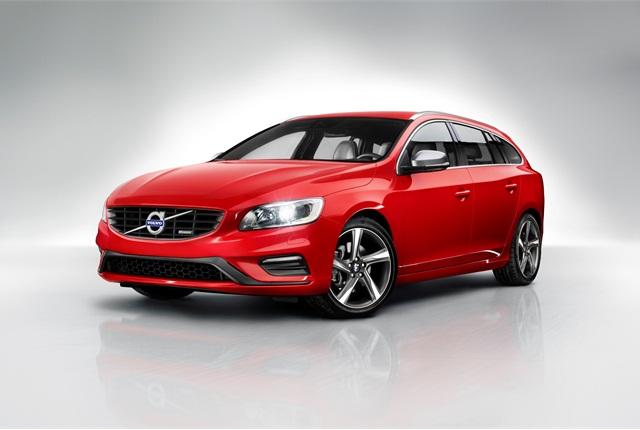 The Volvo V60 sportswagon. Photo courtesy Volvo.