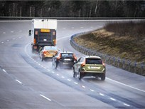 Volvo Participates in Successful 'Road Train' Project