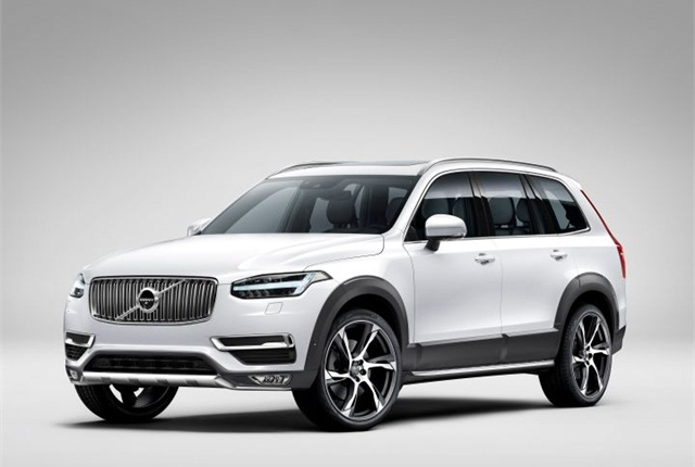 Volvo Unveils 2015 My Xc90 Suv News Automotive Fleet