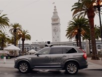 Uber Offers Self-Driving Volvo XC90s in San Francisco