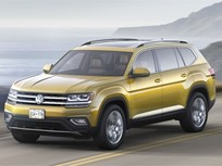 Volkswagen Unveils Three-Row Atlas SUV for 2018