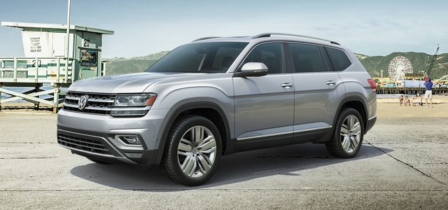 The 2018 Volkswagen Atlas mid-size SUV was designed specifically for the American market and is built at the OEM's Chattanooga, Tenn., plant. Photo: Volkswagen