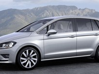 VW Introduces Golf Sportsvan Concept at Frankfurt Auto Show