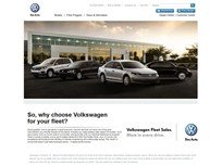 Volkswagen Launches New Corporate Fleet Website