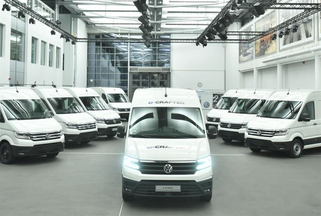 european fleets to test electric volkswagen crafter van. Black Bedroom Furniture Sets. Home Design Ideas