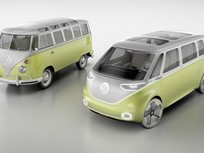 VW Shows Electric Microbus Van Concept