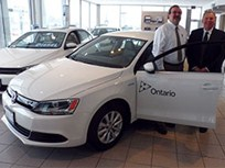 VW Delivers Alt Fuel Jetta Models to the Province of Ontario's Fleet