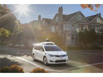 Chrysler Minivans Join Google's Self-Driving Fleet
