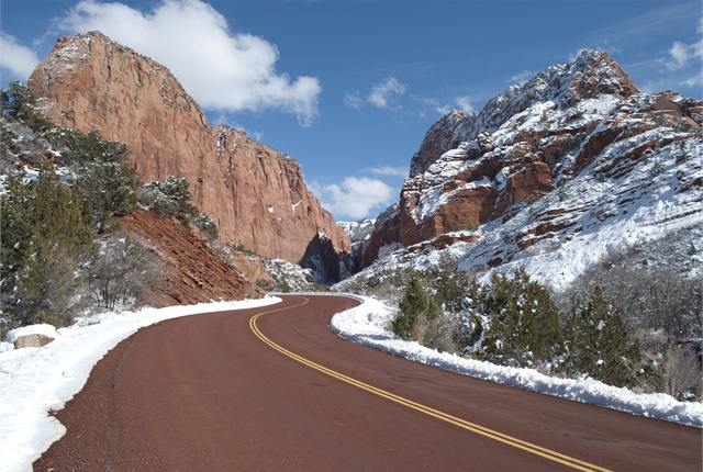 Photo courtesy of Zion National Park via Wikimedia Commons.
