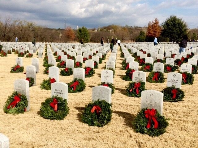 <p><em>In addition to its annual donation of $25,000, which purchases 2,500 wreaths for the graves of the nation's veterans, Omnitracs will have representatives taking part in ceremonies in Dallas; Arlington, Va.; Minneapolis; and San Diego. (Photo courtesy of Omnitracs)</em></p>