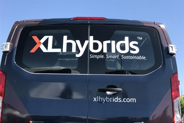 Photo courtesy of XL Hybrids.