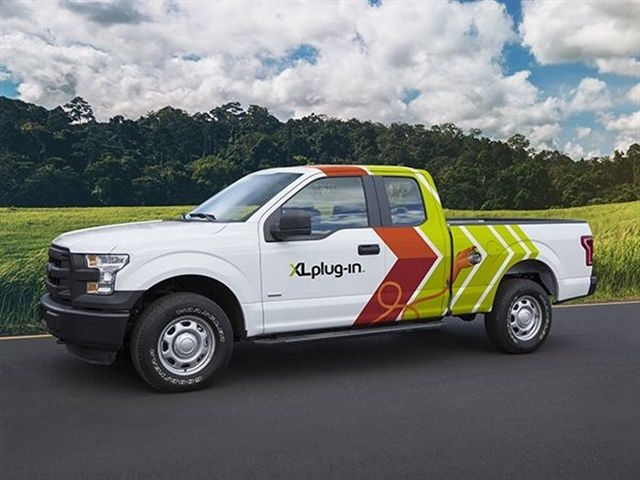 Knapheide will begin XLP PHEV upfits on Ford F-150's in its Kansas City, Mo., facility starting in fourth quarter 2017. (Photo courtesy of XL Hybrid)