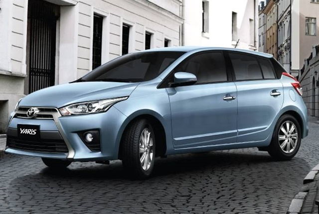 Photo of the Toyota Yaris courtesy of Toyota Vietnam.