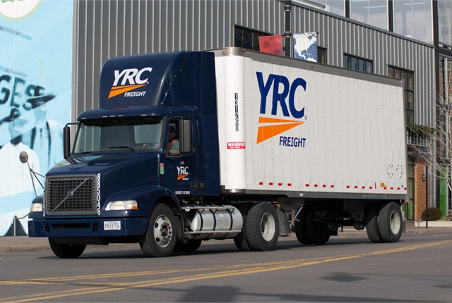 For the first time since 2007, YRC Freight reported positive operating income in the first quarter.