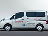 Nissan Testing Electric Version of NV200