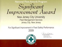 New Jersey City Univ. Awarded for Fleet Safety by NSC