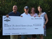 AmeriFleet Donates $10K to Georgia Special Olympics
