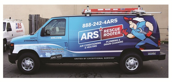 Ars Rescue Rooter Rolls Out Propane Autogas Ford Vans