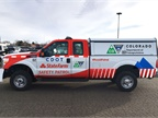 Photo of CDOT State Farm Safety Patrol vehicle courtesy of the Colorado Department of Transportation.