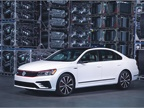 Photo of the 2018 Volkswagen Passat Gt courtesy of VW.