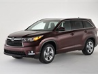 <p>2014 Toyota Highlander. Photo courtesy of Toyota.</p>