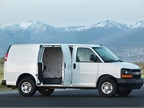 <p>The 2014 model-year Chevrolet Express cargo van is one of the vehicles covered under the new Executive Order from CARB. (PHOTO: General Motors)</p>