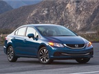 Photo of Honda Civic courtesy of Honda.