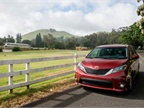 Photo of Toyota Sienna courtesy of Toyota.