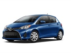 Photo of Toyota Yaris courtesy of Toyota.