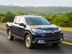 Photo of Honda Ridgeline courtesy of Honda.