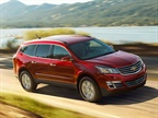Photo of the 2017 Traverse courtesy of Chevrolet.